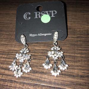 RSVP evening / prom / wedding earrings